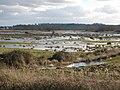 Flooding, on Exminster Marshes - geograph.org.uk - 1159077.jpg