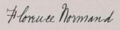 Florence Normand signature 1921.png