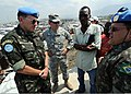 Floriano Peixoto & P. K. Keen at Ancien Aeroport Militaire camp, Port-au-Prince 2010-03-11 2.jpg