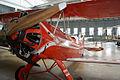 Focke-Wulf FW-44J Stieglitz D-ECUX LFront DMFO 10June2013 (14400453657).jpg