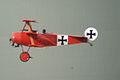 Fokker Dr.I Manfred Richthofen Takeoff 06 Dawn Patrol NMUSAF 26Sept09 (14599282032).jpg