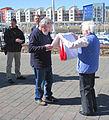 Folding the Jersey flag 2011 9.jpg