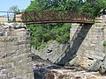 Footbridge at Bad Little Falls, Machias, Maine image 2.jpg
