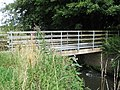 Footbridge over the River Stour by the Staffs and Worces Canal near Wolverley - geograph.org.uk - 1414548.jpg