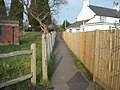 Footpath to Holliers Hill, Bexhill-on-Sea - geograph.org.uk - 690427.jpg