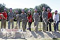 Fort Hood Soldiers break new ground with Armed Services YMCA, Harker Heights 141004-A-RE761-182.jpg