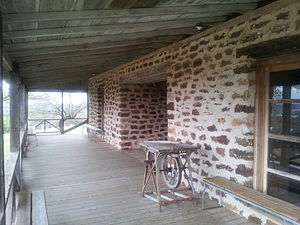 Fort Mason (Texas) - Fort Mason Officer's Quarters