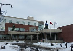 Fort Saskatchewan City Hall in December