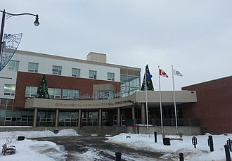 Fort Saskatchewan - Fort Saskatchewan City Hall in December