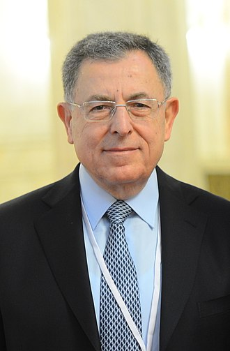 Fouad Siniora - Image: Fouad Siniora EPP Congress 5446 (cropped)