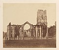 Fountains Abbey. The Chapel of the Nine Alters, Exterior MET DP209900.jpg