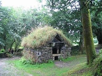 Bakehouse (building) - Image: Four a pain maison cornec