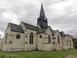 Fourdrain (Aisne) église de la Nativité-de-la -Sainte-Vierge (02).JPG