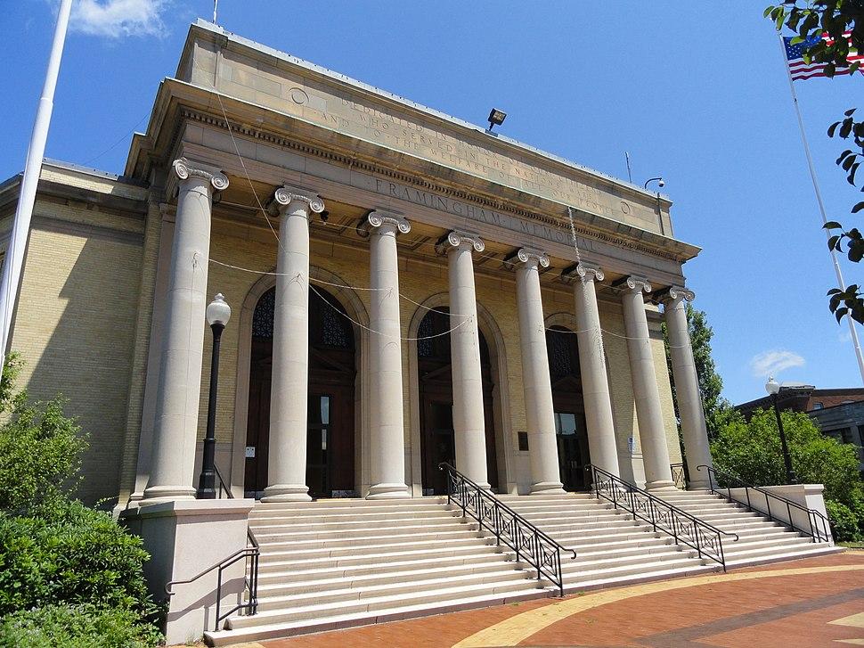 Framingham Memorial - Framingham, MA -DSC00228