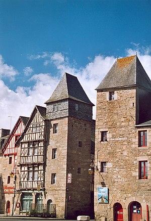 Tréguier - Entrance of the old town