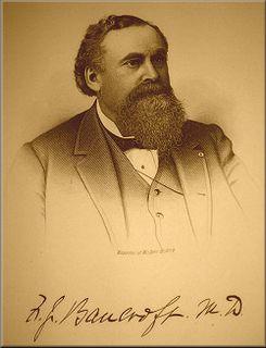 Frederick J. Bancroft American physician and educator