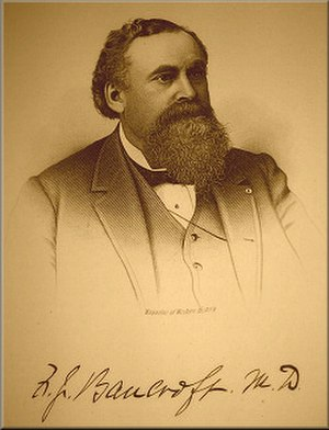 Frederick J. Bancroft - Dr. Frederick J. Bancroft (1834-1903), Denver physician and public health advocate