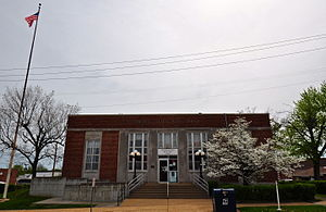 National Register of Historic Places listings in Madison County, Missouri - Image: Fredericktown United States Post Office