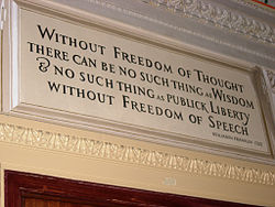 definition of freedom of thought