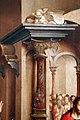 Frei carlos, apparizione di cristo risorto alla vergine, 1529, 03 data e colonna.jpg