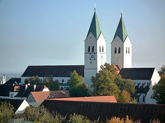 Freising - Image: Freisinger Dom (von St. Georg)