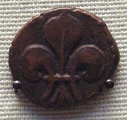 French issued copper coin cast in Pondicherry for internal Indian trade.jpg