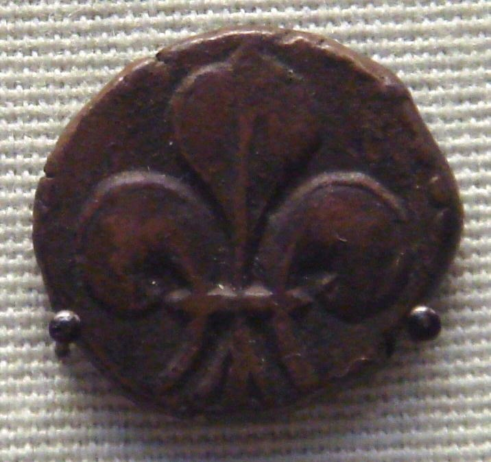 French issued copper coin cast in Pondicherry for internal Indian trade
