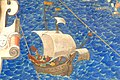 Fresco of historic sailing ship.jpg