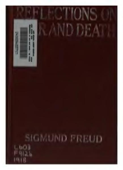 File:Freud - Reflections on war and death.djvu