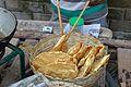 Fried Papad - Bainan - Howrah 2015-04-14 8034.JPG