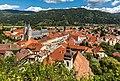 Friesach Ansicht Hauptplatz Pfarrkirche hl Bartholomäus Heiligblutkirche 04092017 0693.jpg