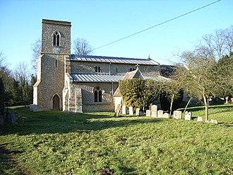 Fringford - Image: Fringford church
