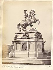 Frith, Francis (1822-1898) - n. 2337 - Statue of Prince Eugene of Savoy - Vienna.jpg