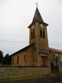 Fromezey L'église Saint-Martin.JPG