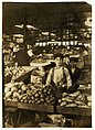 Fruit Venders, Indianapolis Market, aug., 1908. Wit., E. N. Clopper. Location- Indianapolis, Indiana. LOC 7985822476.jpg