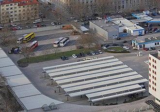 Zentraler Omnibusbahnhof Berlin - Image: Funkturm Berlin View 12