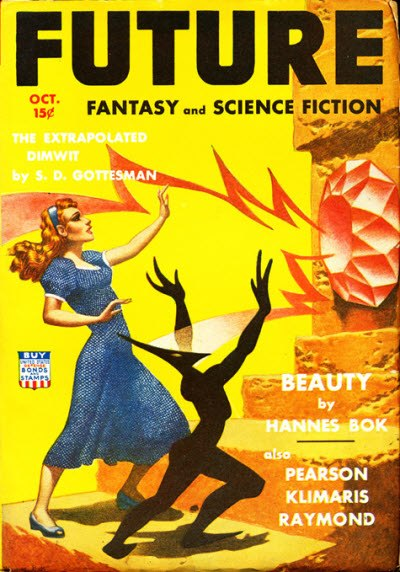 Future Fantasy and Science Fiction October 1942