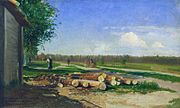 Fyodor Vasilyev Logs by the road.jpg