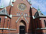Göteborg Oskar-Fredriks-Kirche Fassade 2.JPG