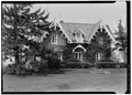 GENERAL VIEW OF FRONT - Alfred Lamb House, Franklin Street, Skaneateles, Onondaga County, NY HABS NY,34-SKA,7-1.tif
