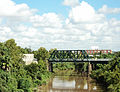 GH&H Railroad Bridge, Buffalo Bayou, Houston, Texas 0911101028 (5002480779).jpg