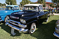 GMC Suburban 1958 Pickup 100 LSideFront Lake Mirror Cassic 16Oct2010 (14876890302).jpg