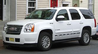 Hybrid vehicle - GMC Yukon hybrid version