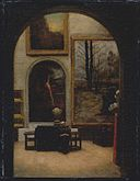 Gallery of the Museum of Fine Arts, Copley Square by Enrico Meneghelli.jpg