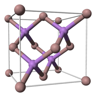 Gallium arsenide chemical compound