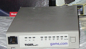 Game.com - game.com modem and internet cartridges