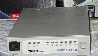 Game.com - Game.com modem
