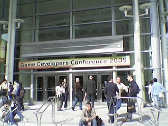Game Developers Conference - 2005 Game Developers Conference entrance