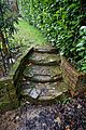 Garden steps in Nuthurst, West Sussex, England 02.jpg
