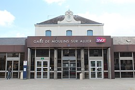 Image illustrative de l'article Gare de Moulins-sur-Allier